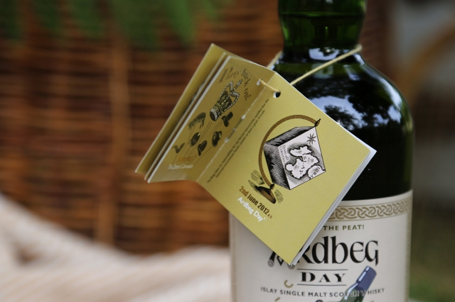Ardbeg Day - Swing tag 2