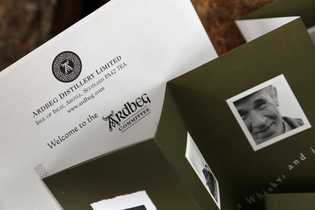 Ardbeg Welcome Letter