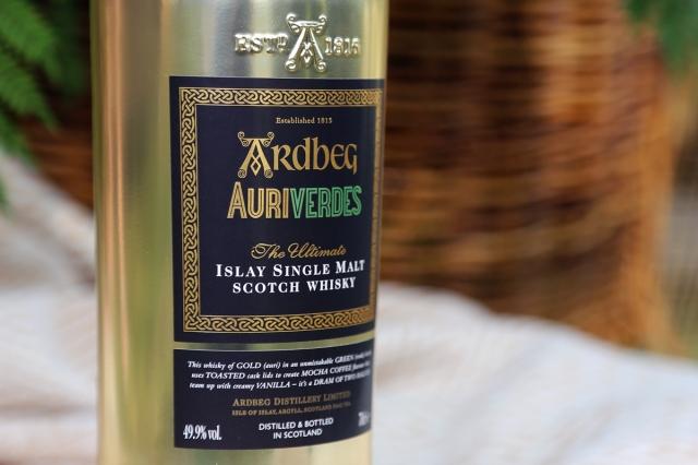Auriverdes front label