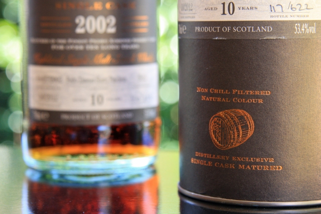 Glendronach 2002 tube base