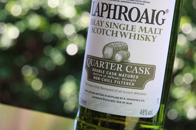 Laphroaig QC label