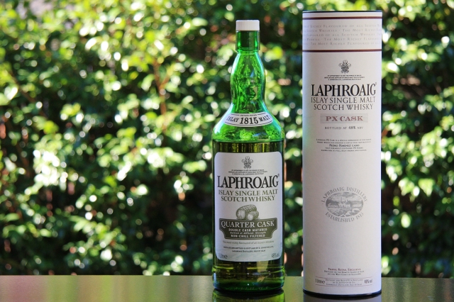 Laphroaig Quarter Cask bottle