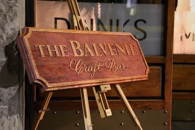 Balvenie Craft Bar
