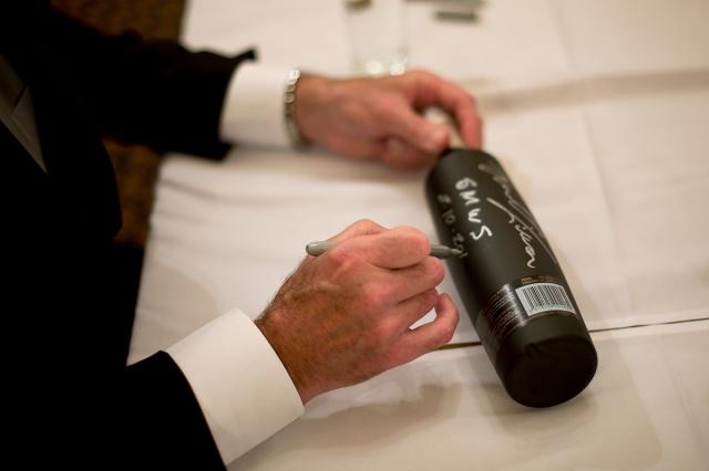 Signing bottles