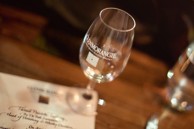 Glenmorangie glass
