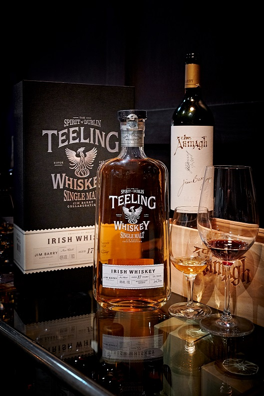 Jim Barry Collaboration with Teeling 17-Year-Old Single Malt Armagh Shiraz